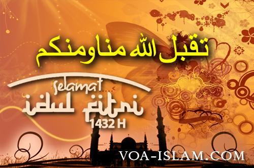 Inilah Ucapan Selamat Hari Raya Yang Benar Sesuai Sunnah Voa Islam Com