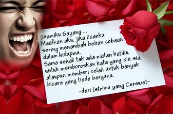 surat cinta istri cerewet yang harus dibaca para suami voa islam com