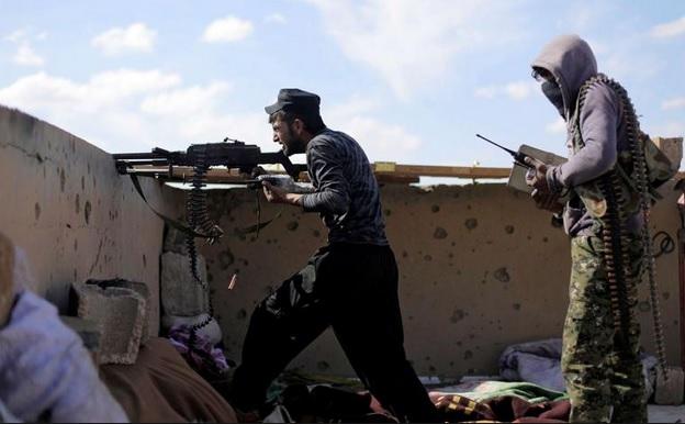 Pertempuran Antara SDF dan IS Masih Berlanjut di Baghouz Meski Klaim Kemenangan oleh Trump