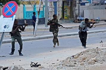 Pejuang Al-Shabaab Serbu Gedung Kementerian Tenaga Kerja Somalia di Mogadishu