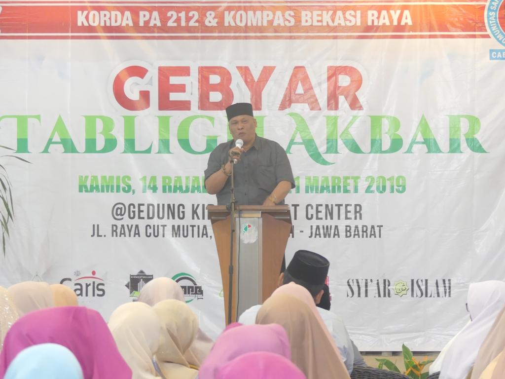Damin Sada Optimis Prabowo Bakal Menang di Bekasi Meski Tanpa Kampanye
