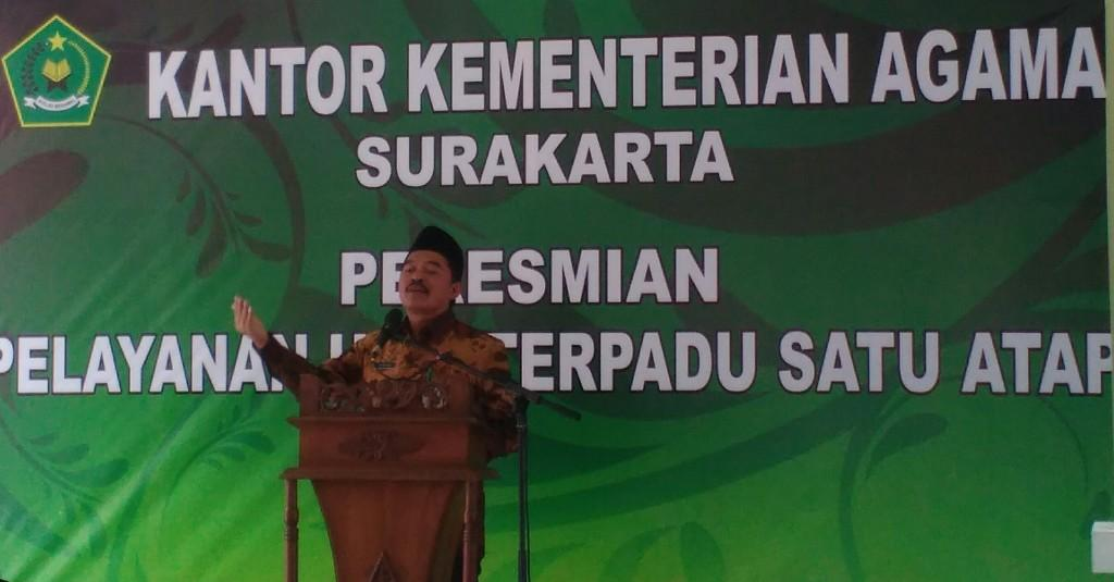 Kemenag Solo Luncurkan Pelayanan Pendaftaran Haji Terpadu Satu Atap