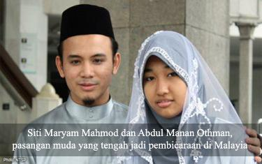 Menkum Malaysia: Jika Islam Izinkan Nikah Dini, Kita Tak Akan Menentang
