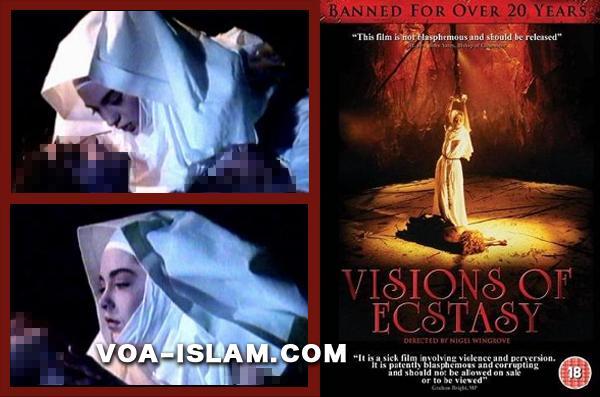Hmm!! Film Yesus Dirayu Suster Katolik di Atas Salib