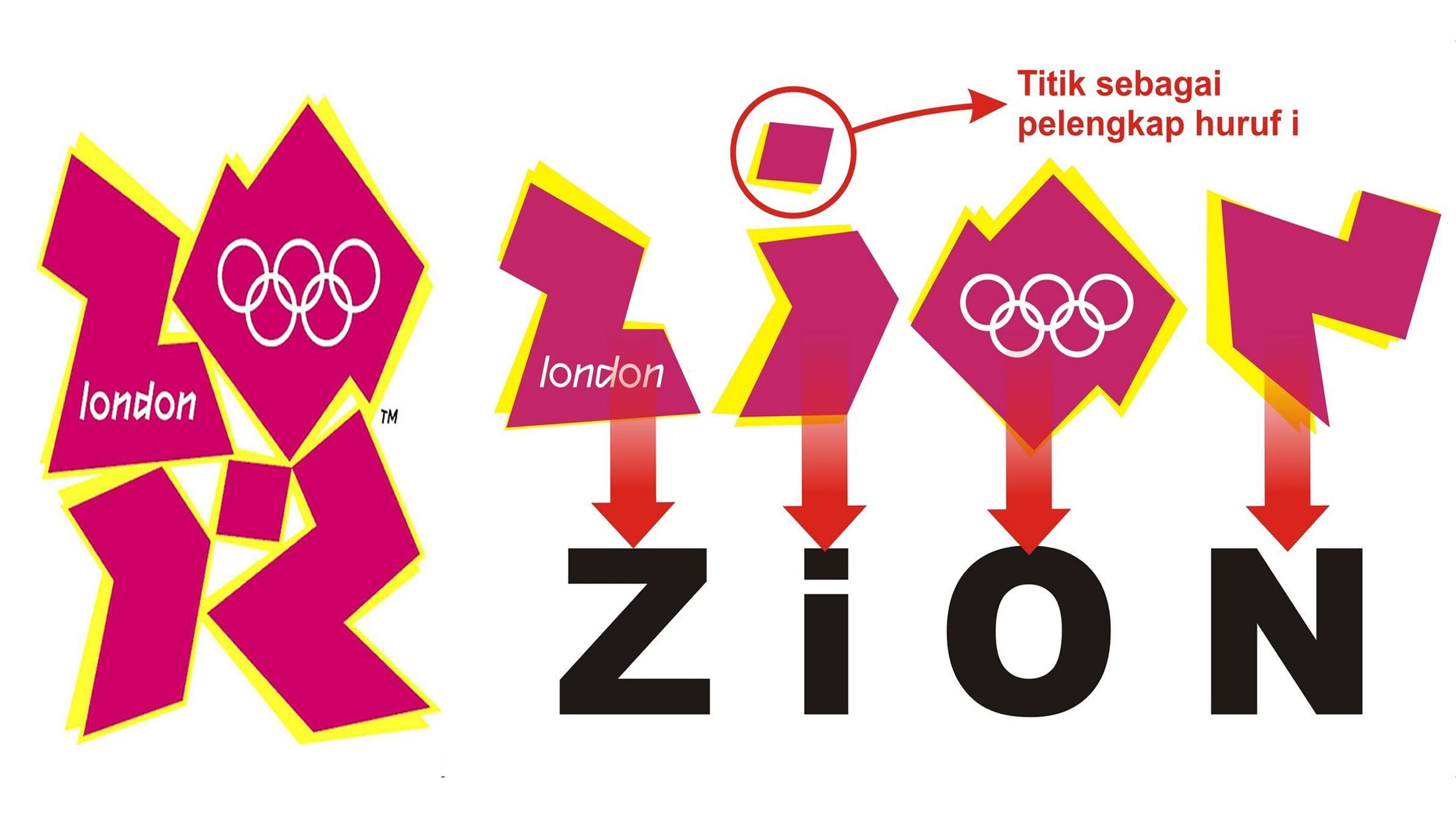 Makin Gila Simbol Dajjal Jadi Maskot Olimpiade London 2012