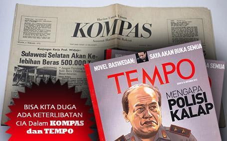 Munarman: Kompas & Tempo Itu Media Ideologis, Bisa Kita Duga CIA Terlibat Sejak 1960
