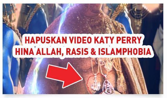 Rasis & Islamphobia: 52.000 Petisi desak Hapus Video Katy Perry 'Dark ...