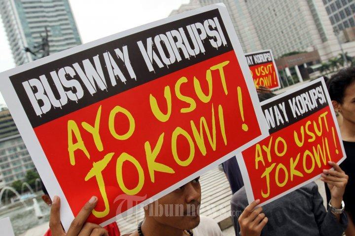 Progress 98 Menyerukan Aksi Nginap di KPK Untuk Usut Korupsi Jokowi