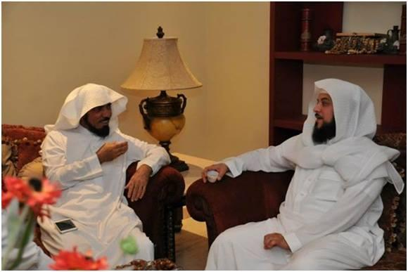 Ada Apa Syaikh Muhammad Al'Arifi Kunjungi Syaikh Salman Al Audah?