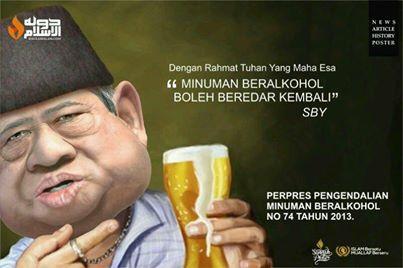 Cuma di Indonesia Pemimpin Sebut Nama Tuhan Legalkan yang Haram