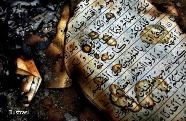 Teror Dua Masjid di Banten: Al-Qur'an, Buku dan Sajadah Dibakar
