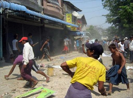 Pembantaian Meluas, Kafir Buddha Bakar Hidup-hidup Muslim Burma