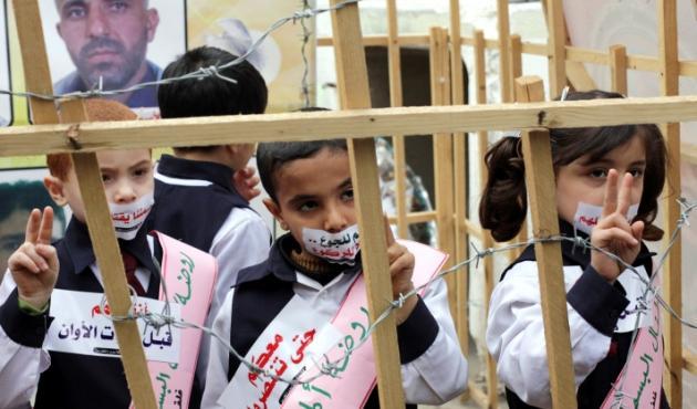 Biadab, 350 Anak Palestina di Tahan Israel