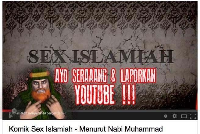 Waspada Beredar Video 'Komik Sex Islamiah Menurut Nabi Muhammad'