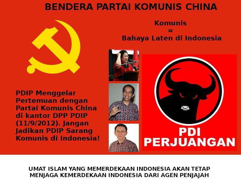 Militer Khawatir Bangkitnya PKI di Indonesia Melalui PDIP ...