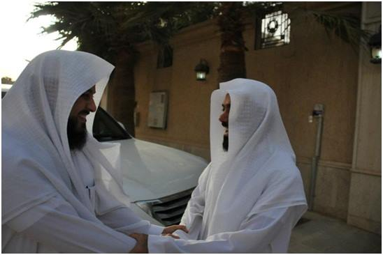 Rumah kami dimuliakandengan kunjungan sahabat kami; Dr. Muhammad al