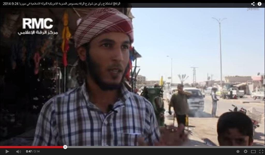 Komentar Warga Raqqa, Ibukota Daulah Islamiyyah (IS/ISIS), Tentang Serangan AS & Sekutu