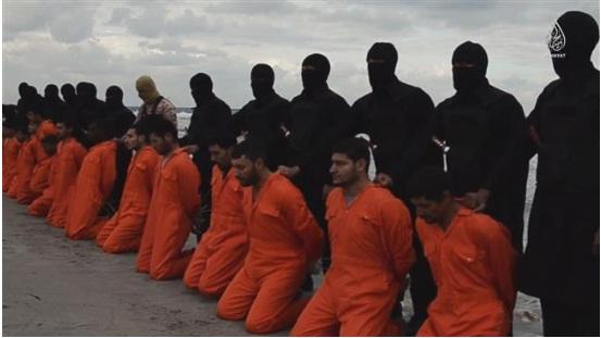 Daulah Islam (IS) Cabang Libya Rilis Video Pemenggalan 21 Kristen ...