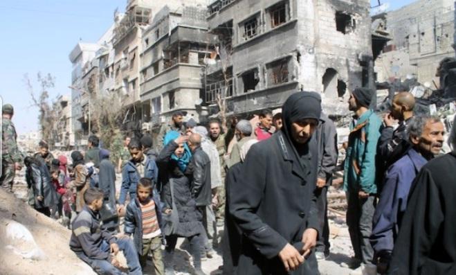 Akhnaf Bayt Al-Maqdis Kembali Terlibat Bentrok dengan Daulah Islam (IS) di Kamp Yarmouk