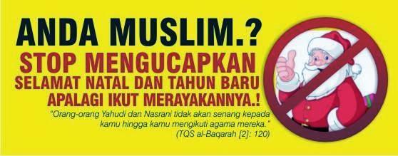 Umat Islam lndonesia : Toleransi Yang Sangat Kebablasan