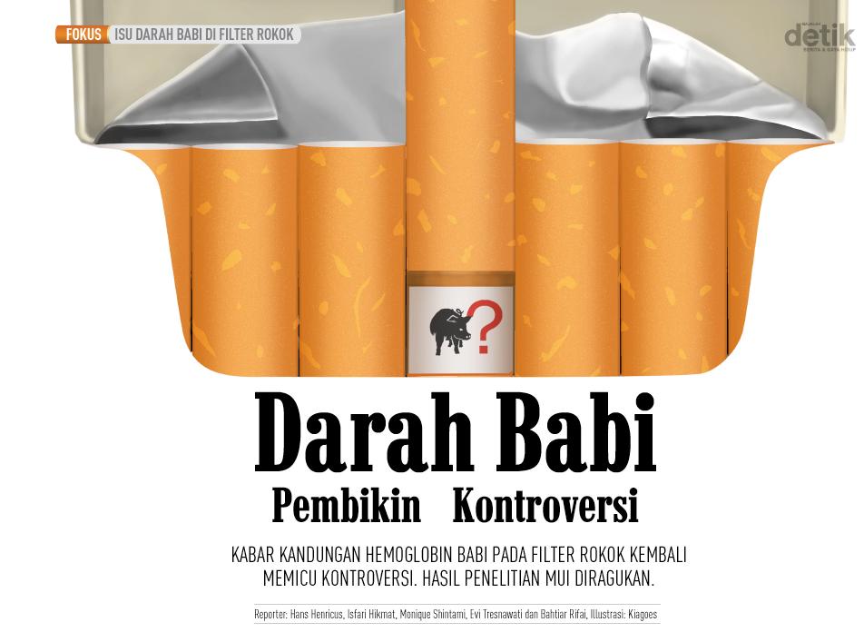 Ternyata Benar, Filter Rokok Memang Mengandung Darah Babi - VOA ... VOA Islam952 × 707Search by image Berita Terkait