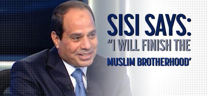 Presiden Mesir Abdul Fattah al-Sisi : Mesir Akan Melindungi Israel dari Rakyat Palestina