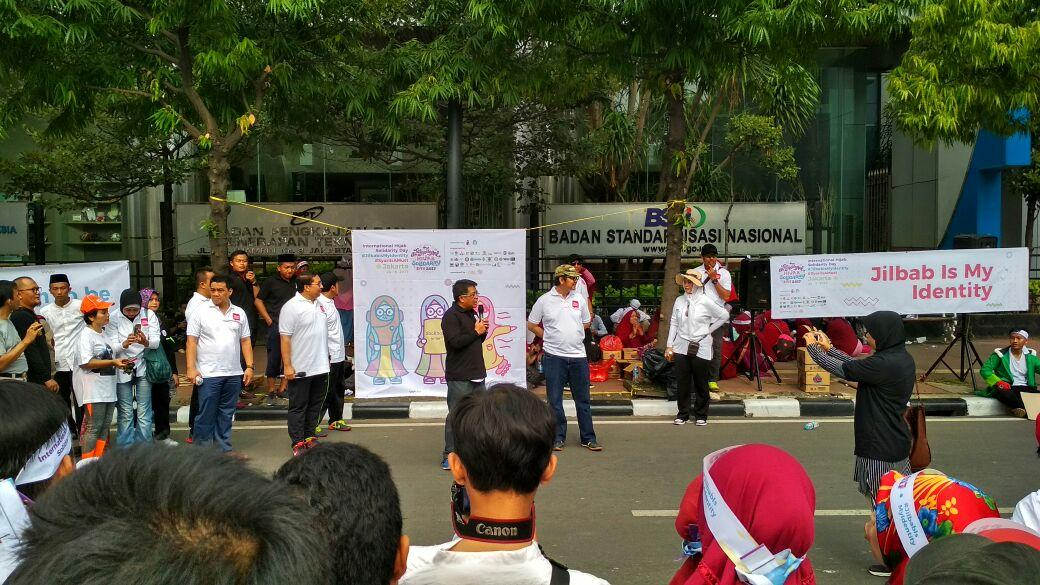 Peringatan International Hijab Solidarity Day 2017 Digelar di CFD