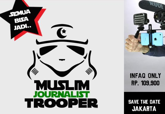 Ikuti Training MUSLIM JOURNALIST TROOPER, Video News Jaman NOW! Yuk Daftar