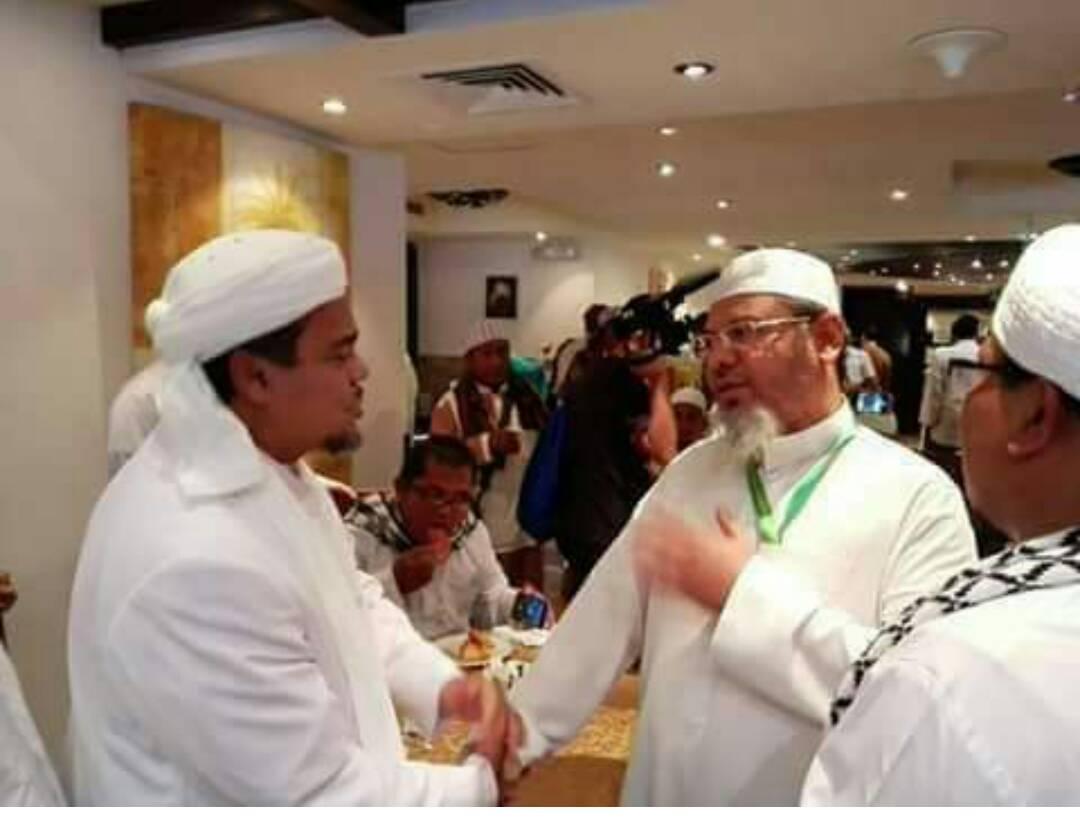 Hasil gambar untuk rizieq shihab di arab saudi