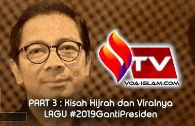 Video Hot Interview (3): Kisah Hijrah Dibalik Viral Lagu 'Rakyat' Sang Alang #2019 Ganti Presiden