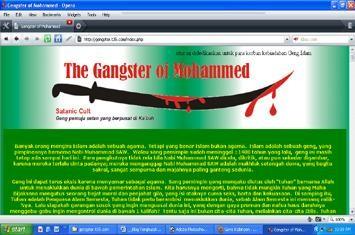 Membedah Blog Kafir (1): Islam Adalah Geng Pemuja Setan dan Pembunuh Manusia?