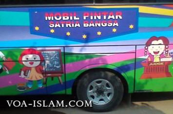 Astagfirullah!! misionaris mobil pintar itu akan 'baptis' siswa sdn