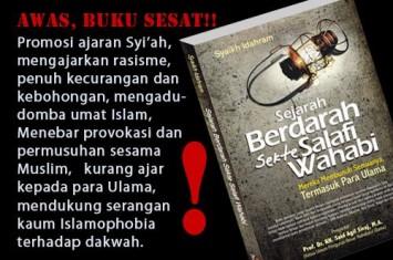 """Membongkar Kedustaan dan Kesesatan Buku """"Sejarah Berdarah Sekte Salafi Wahabi"""" Karya Syaikh Idarham"""