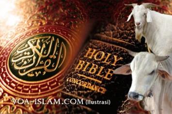 Al-Qur'an Mengoreksi Bibel Soal Qurban (Menjawab Hujatan Penginjil)