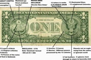 Nah lho.... Ada Mantra Sihir pada Uang Kertas Dollar AS!