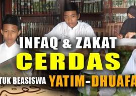 Zakat & Infaq Cerdas: Salurkan Zakat dan Infaq untuk Beasiswa Yatim-Dhuafa