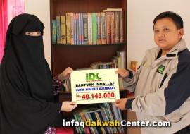 Bantuan Rp 40 Juta Disalurkan, Muallaf Nurul Hutabarat Bebas Hutang dan Punya Modal Usaha