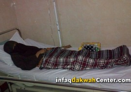 Mutia Az-Zahra, Istri Mujahid Kritis di Rumah Sakit Banyumas. Ayo Bantu!!
