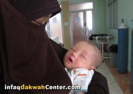 Bayi Nabil Mujahid Sudah Sehat, Donasi Rp 12 Juta Sudah Disalurkan