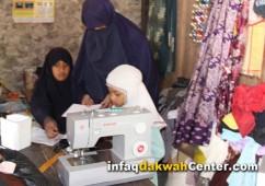 Bantuan Ummu Zakiyah Sudah Diserahkan Berupa Mesin Jahit, Santunan Rutin dan Beasiswa