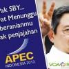 APEC 2013: Amerika datang dalam Kebangkrutan & Memeras Indonesia