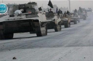 SOHR: Jabhat Al-Nusrah Rebut 35 Tank dan 20 APC dari Militer Suriah di Idlib