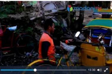 Tukang Becak dari Tulehu, Sisihkan Penghasilan untuk Dirikan TPQ