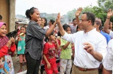 Untuk ''Wong Cilik'' Anies Menata Jakarta