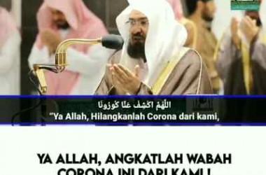Doa Syaikh Prof. Dr. Abdurrahman al-Sudais Agar Corona Hilang