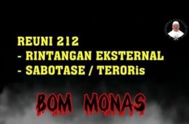 Bom 212, Teror Terhadap Elektabilitas Jokowi