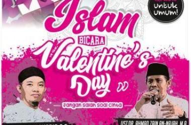 Tabligh Akbar Kupas Valentine's Day ''Jangan Salah Soal Cinta''