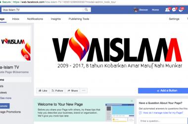 Facebook Voa-Islam.com HADIR KEMBALI, Likes dan Share NOW!