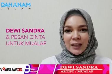 [VIDEO] Jelang Ramadhan, Ini pesan Cinta dari Dewi Sandra kepada para Mualaf