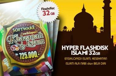FLASHDISK HYPER-ISLAM PALING LENGKAP 32 GB, #HyperDisk Islami !!